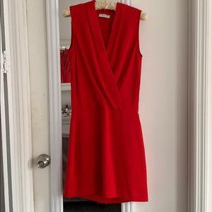 Aritzia Dresses - ARITZIA BABTON PHOENIX CHERRY RED DRESS SZ 2